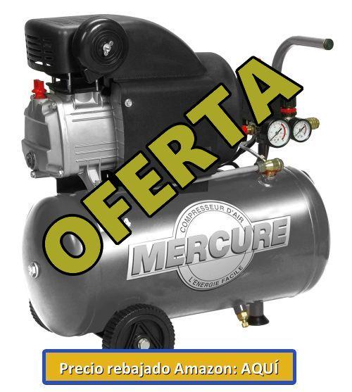 comprar compresor mercure de 24 litros