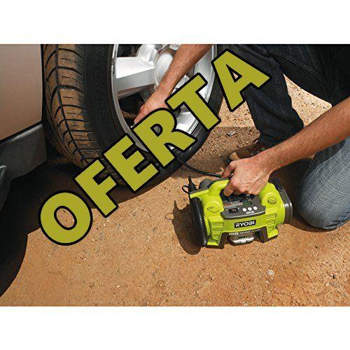 compresor ryobi para inflar ruedas